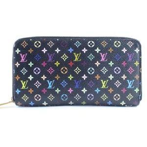 Multicolor Monogram Zippy Wallet 11LR0417